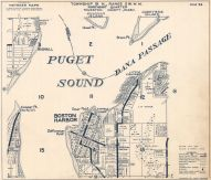 Page 022, Puget Sound, Dana Passage, Boston Harbor, Rignall, Thurston County 1962